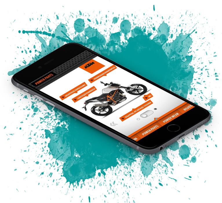 KTM 690 Duke app